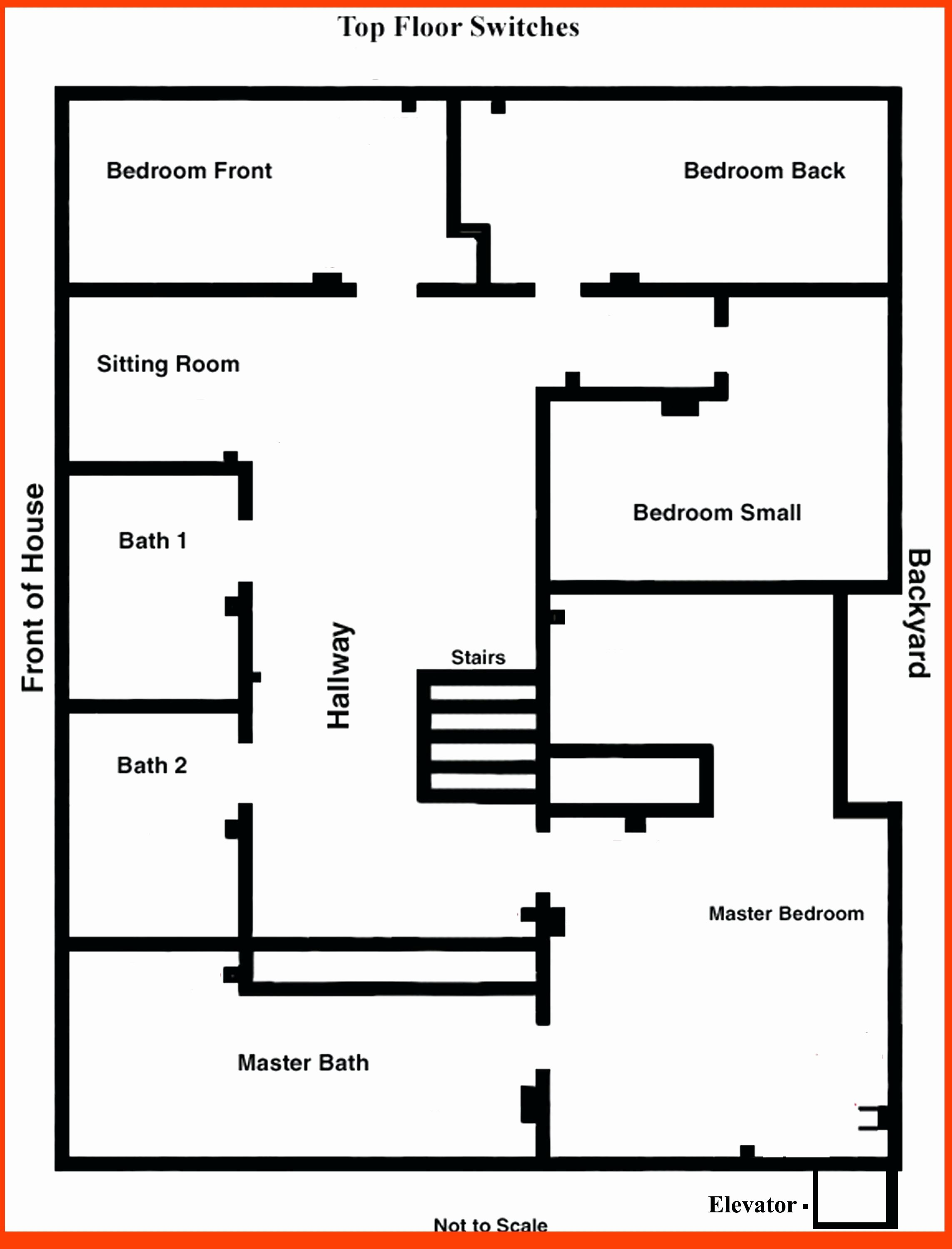 Diagram Bedroom Wiring Diagram for Outlets