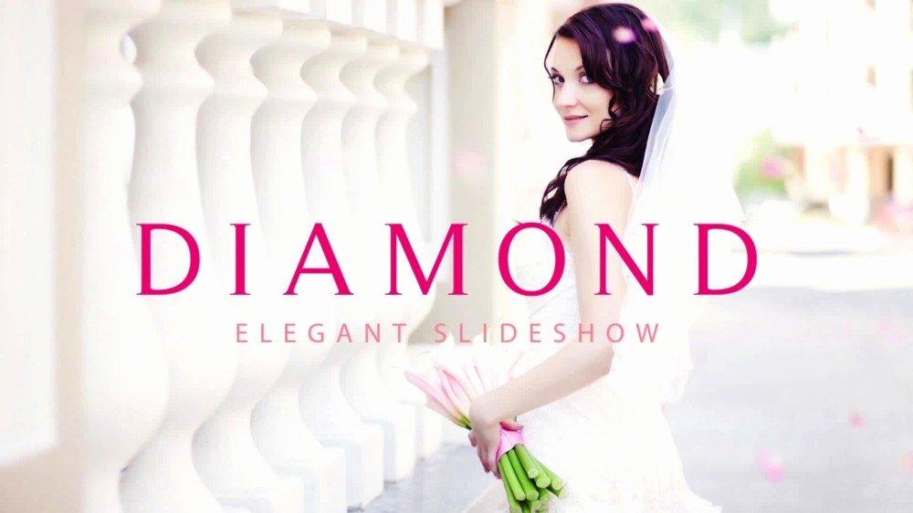 Diamond Modular Slideshow after Effects Template