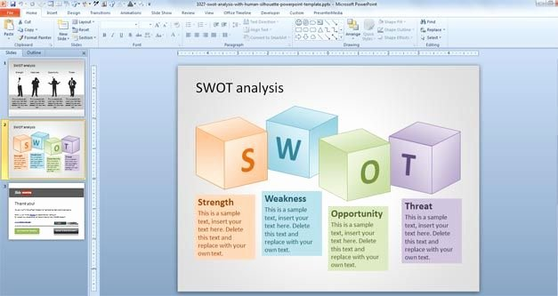 Different Types Of Swot Analysis Templates – Slidehunter