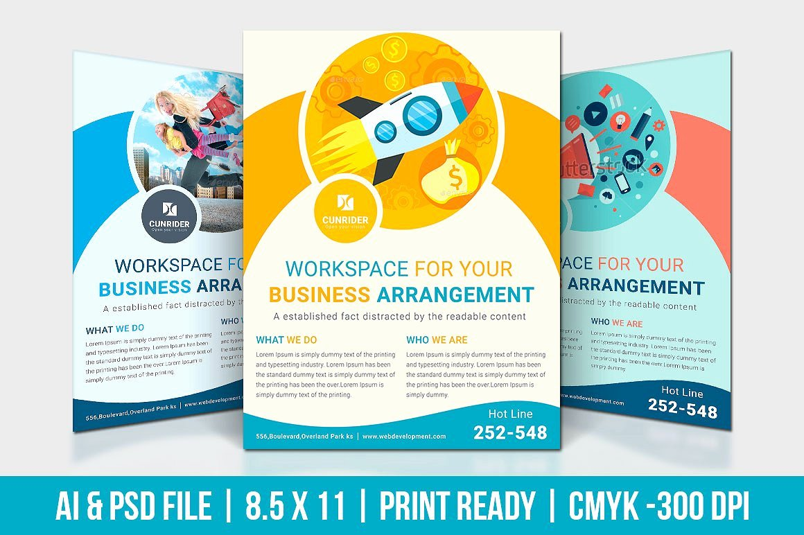 Digital Marketing Flyer Flyer Templates Creative Market