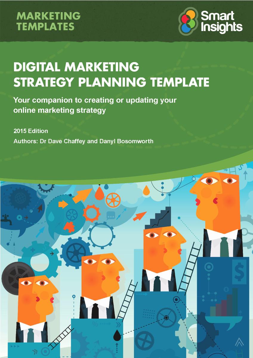 Digital Marketing Plan Template Smart Insights Authorstream