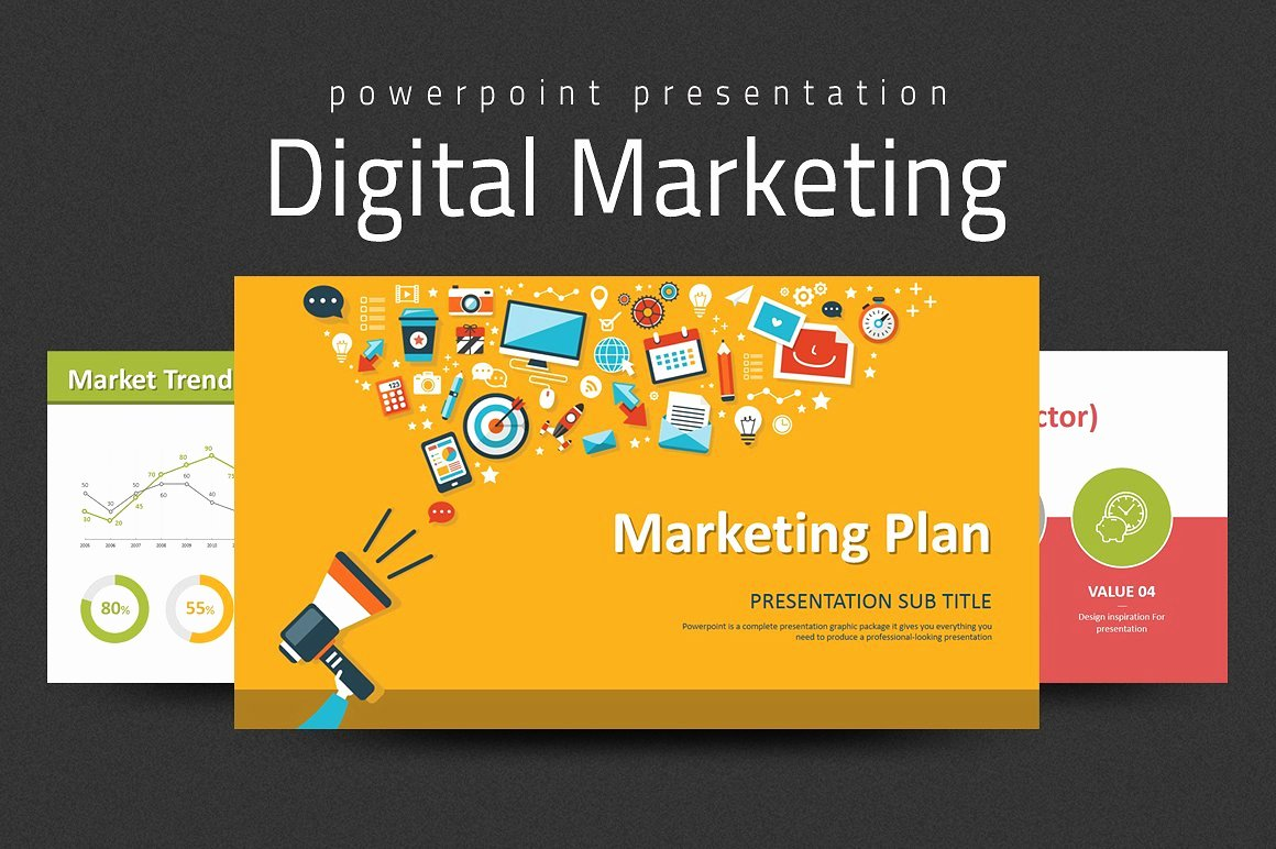 Digital Marketing Strategy Ppt Presentation Templates