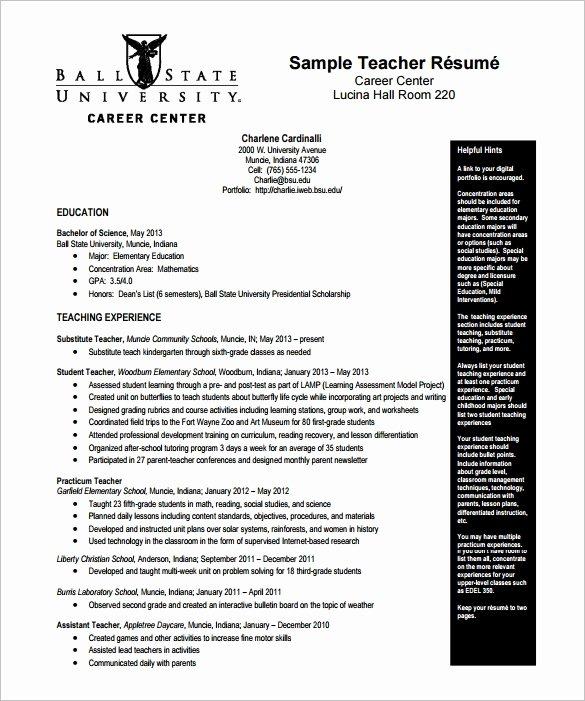 Digital Resume Template 7 Free Word Excel Pdf format
