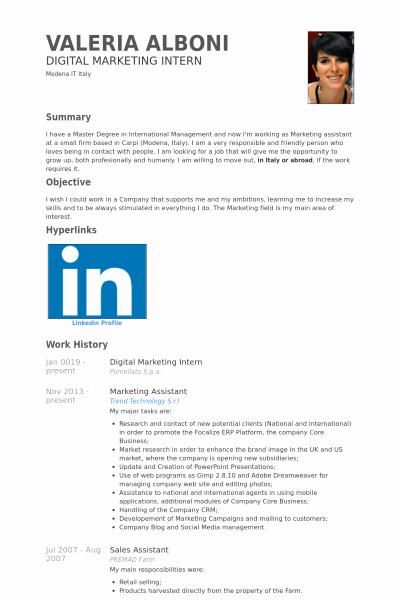 Digital Resume Template
