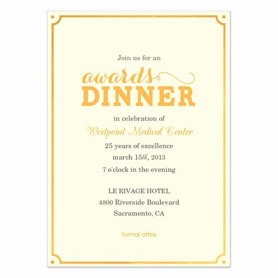 Dinner Invitation Samples