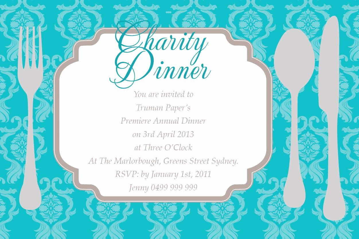 Dinner Invitation Template Dinner Invitation Template