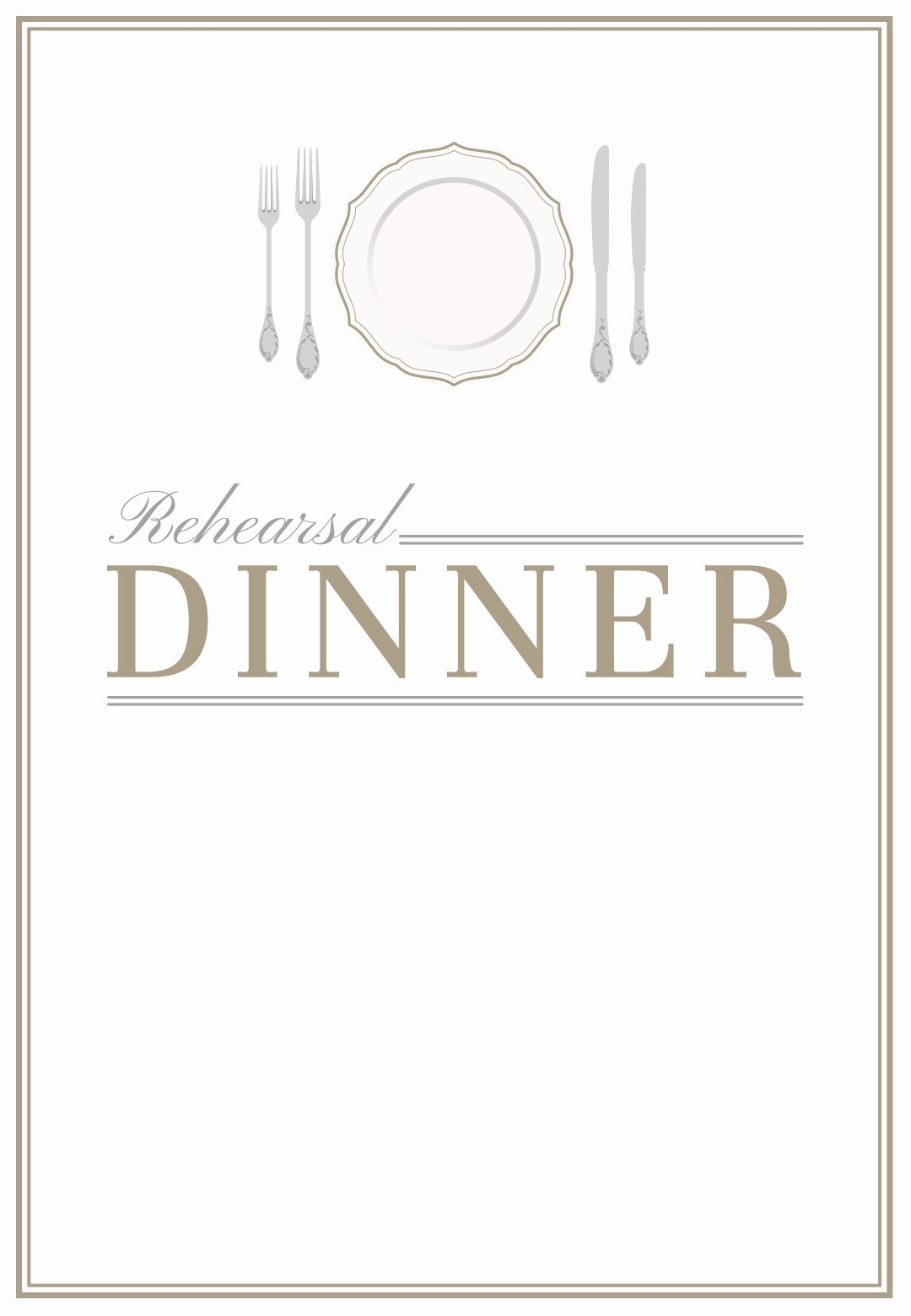 Dinner Invitation Templates Free Printable Templates