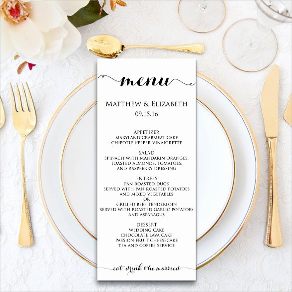 Dinner Menu Templates – 36 Free Word Pdf Psd Eps
