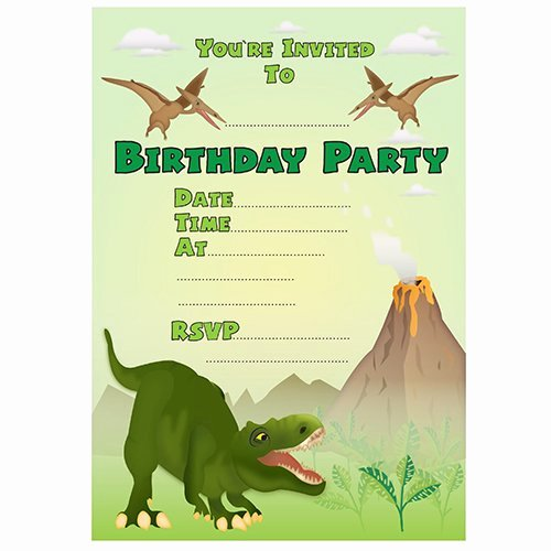 dinosaur party invitations for simple invitations of your party invitation templates using foxy design ideas 14