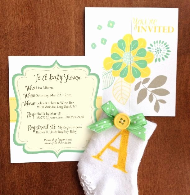 Diy Baby Shower Invitations Template 2018