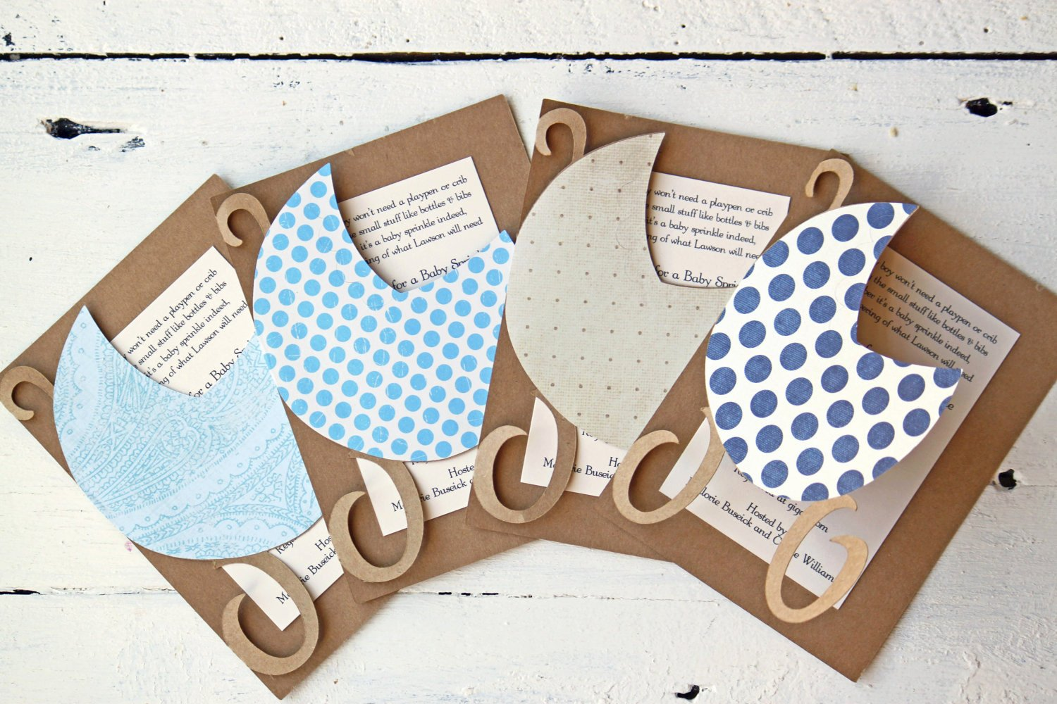 Diy Baby Shower Invites
