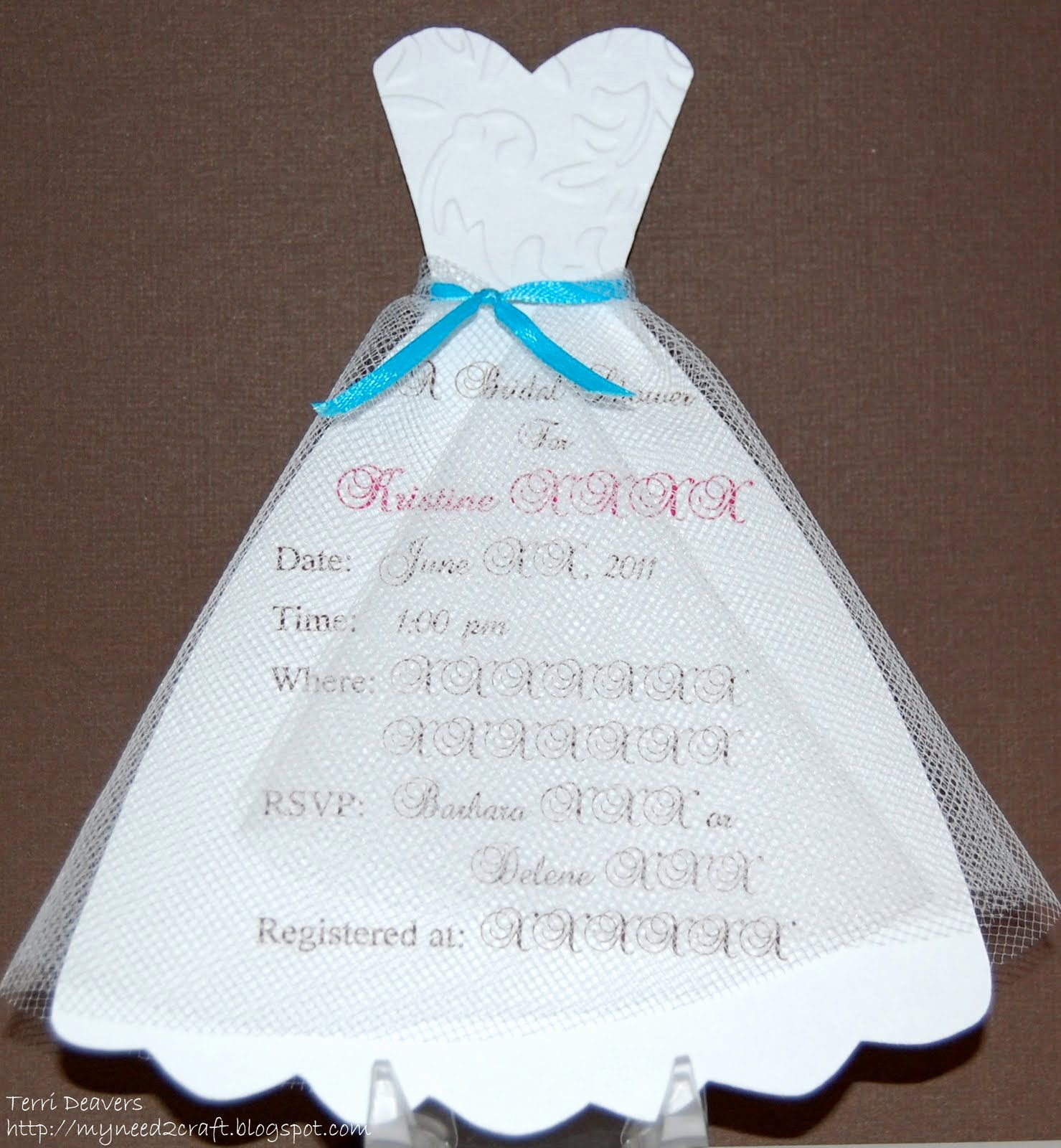 Diy Bridal Shower Invitations Diy Bridal Shower