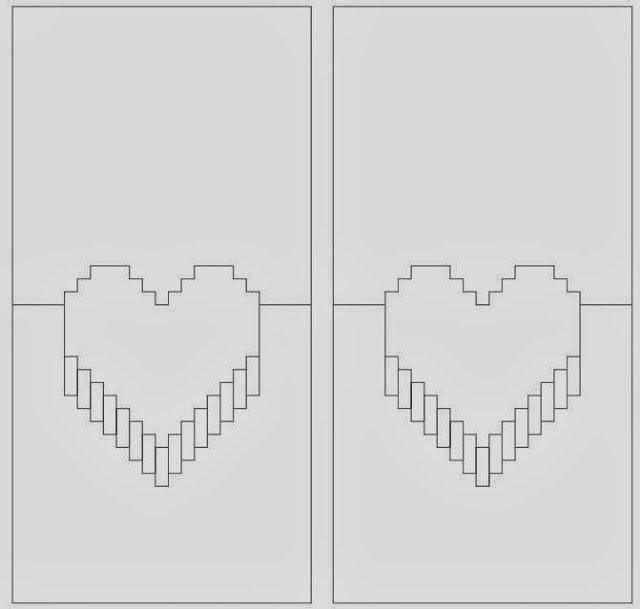 Diy Heart Pop Out Card the Idea King