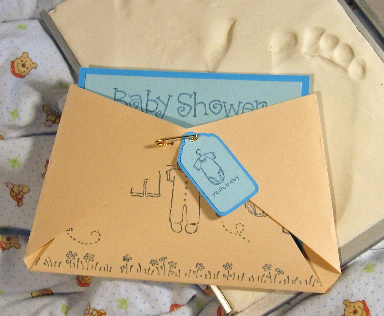Diy Kinda Girl Baby Shower Invites