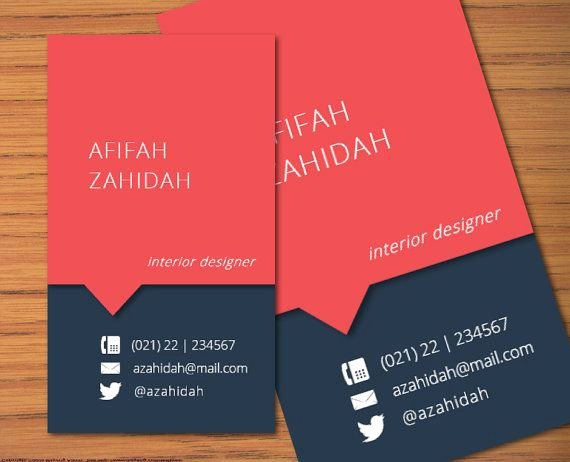 Diy Microsoft Word Business Name Card Template Afifah by