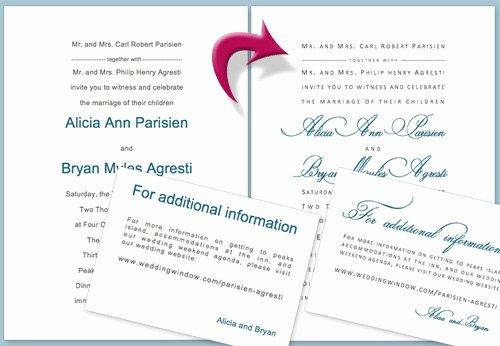 Diy Wedding Invitation Tutorial Using Microsoft Word