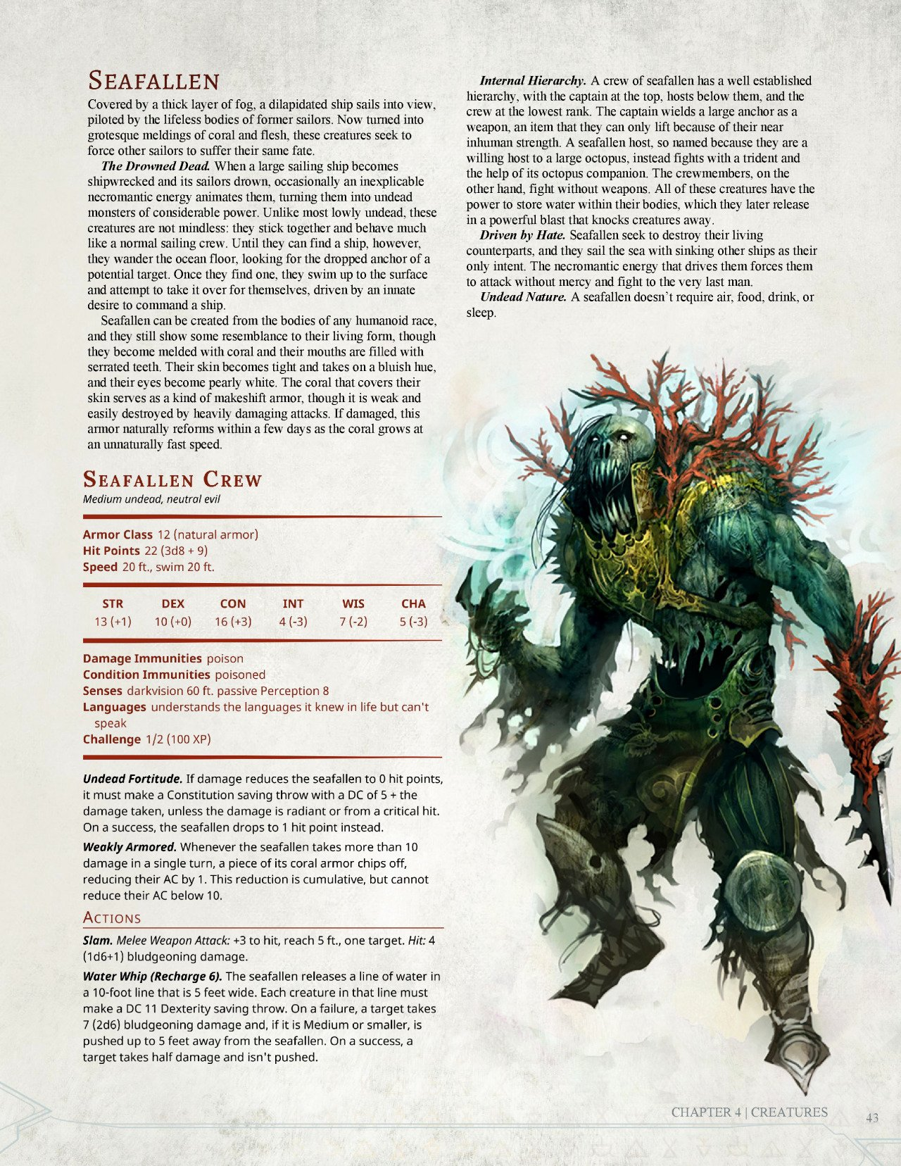 Dnd 5e Homebrew — Dark Arts Player's Panion Monsters