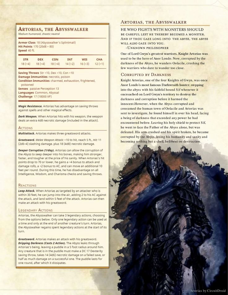 Dnd 5e Homebrew Search Results for Undead