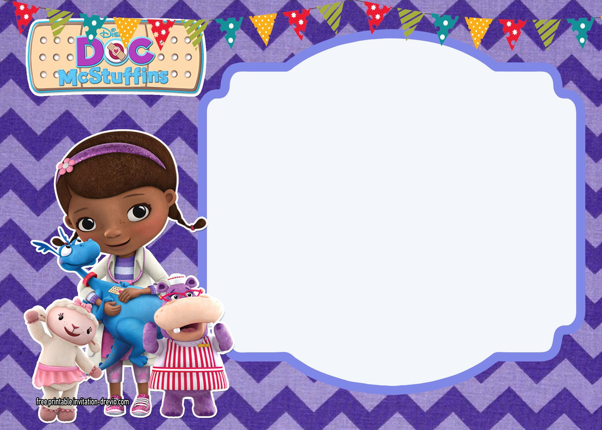 Doc Mcstuffins Templates to Pin On Pinterest