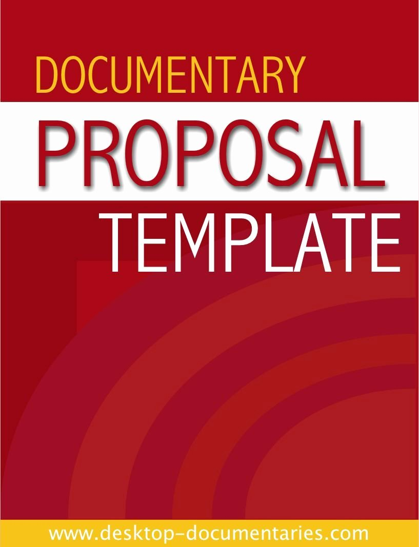 Documentary Proposal Template
