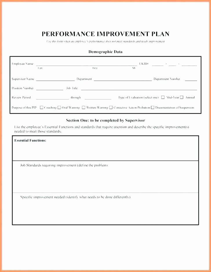 Documenting Employee issues Template Coaching Plan – Drage