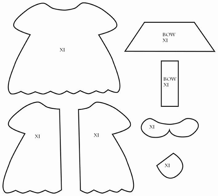 Doll Diaries Chapter 2 Making Hikari S Felt Doll Dress