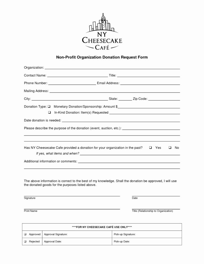 Donation form Template Pdf Templates Resume Examples