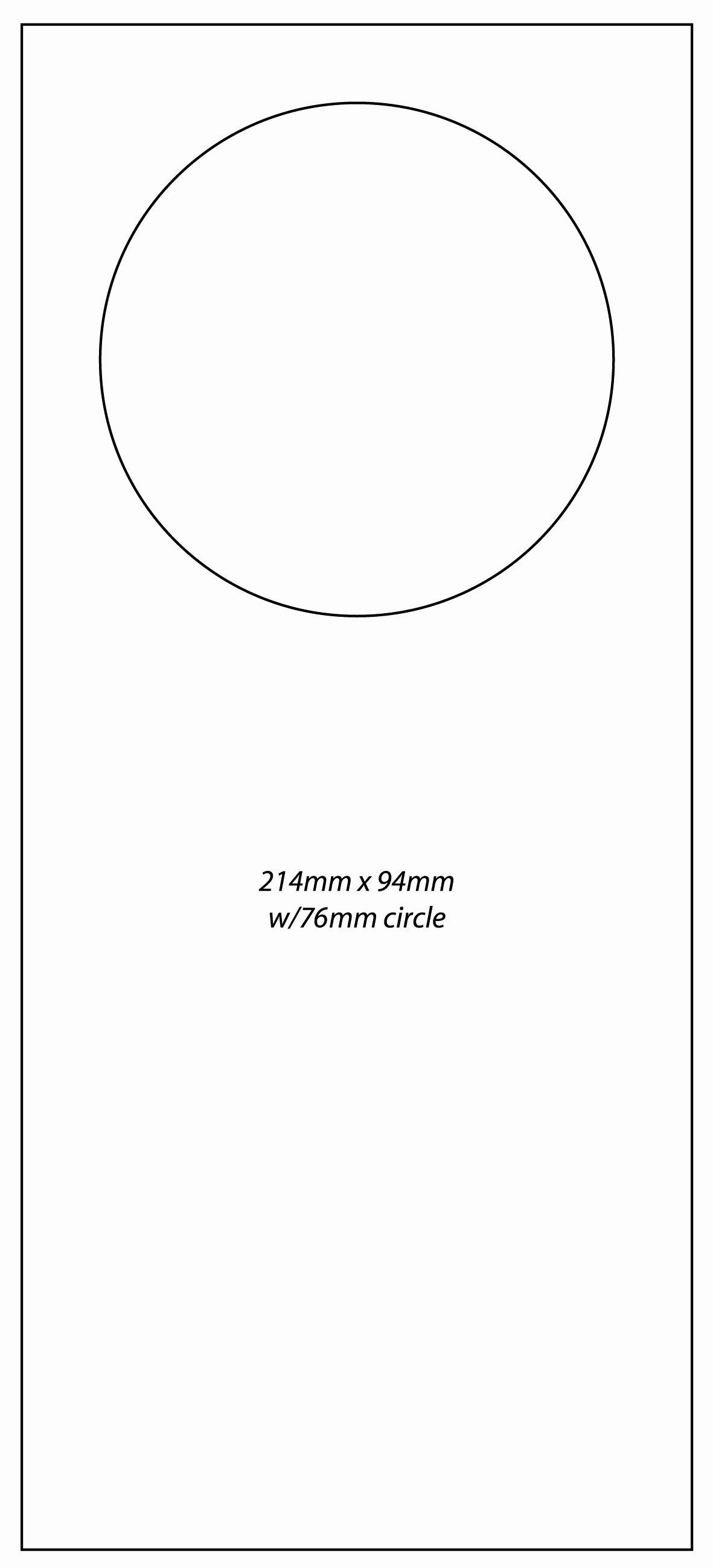 Door Flyer Template & Door Hanger and Flyer Templates for