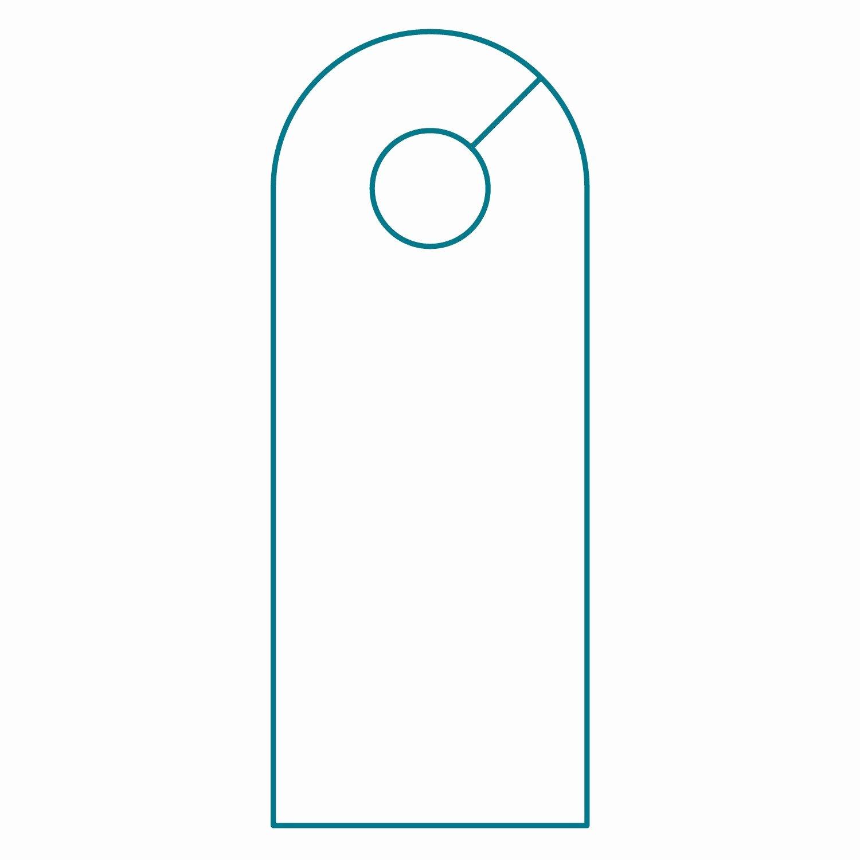 Door Hanger Template Illustrator Templates Resume