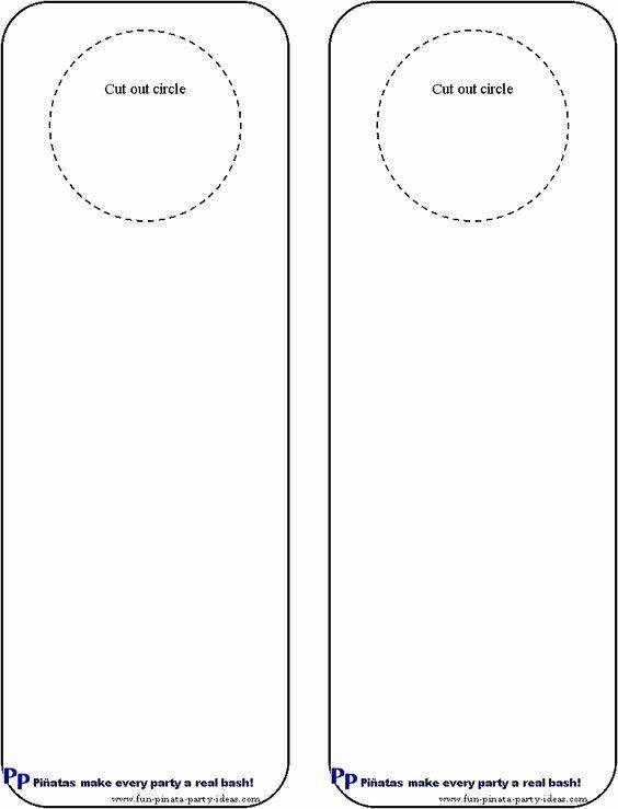 Door Hangers Hangers and Printable Crafts On Pinterest