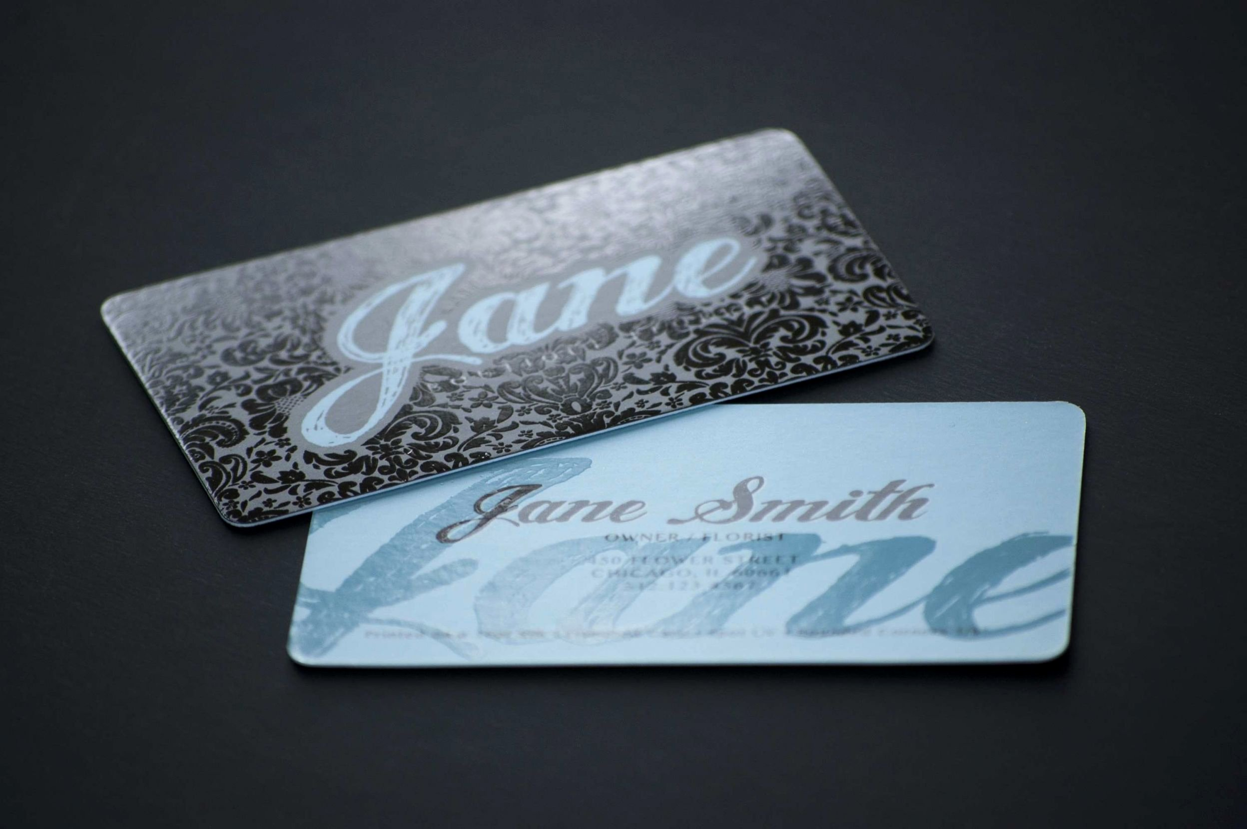Double Sided Business Card Template Printable Business