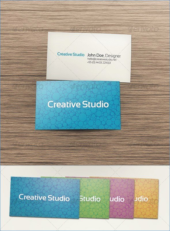 Double Sided Business Card Template Word – Harddancefo