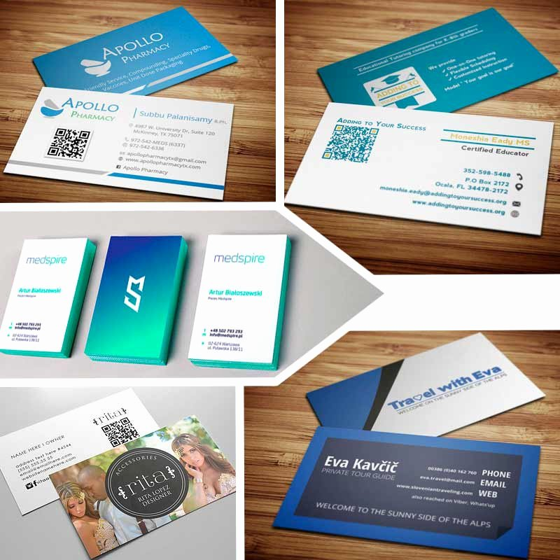Double Sided Business Cards Creative Ideas for Your