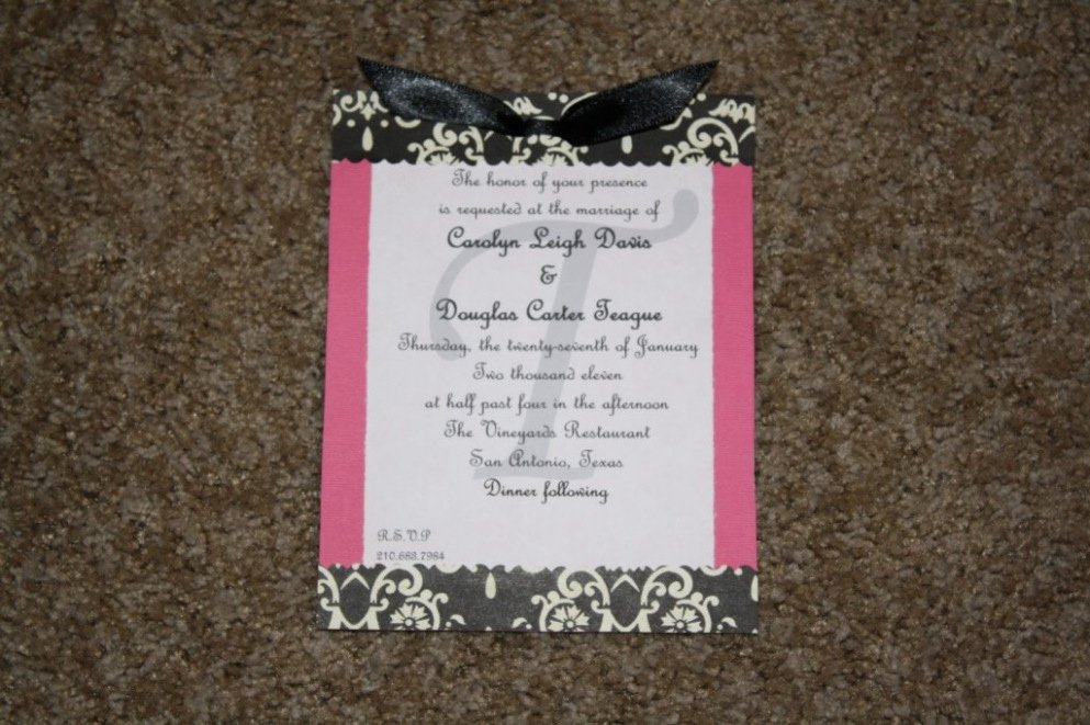 Download 11 Hobby Lobby Wedding Invitation Templates