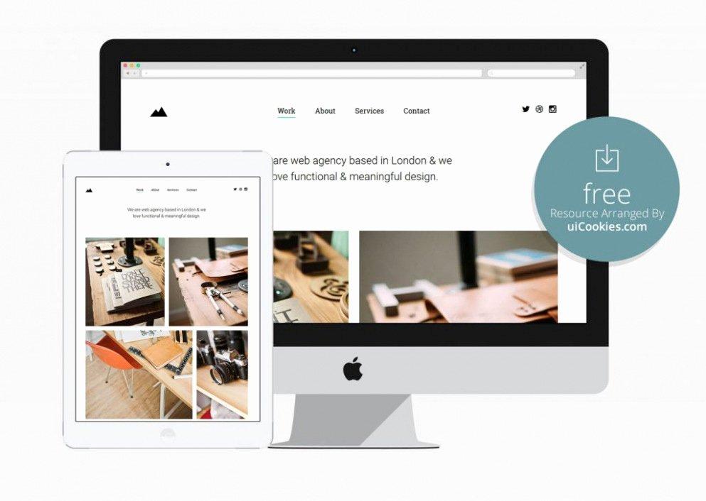 Download 12 Free HTML Portfolio Templates Illustrate
