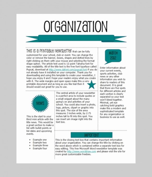 Download 12 Homeowners association Newsletter Template