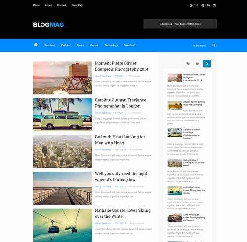 Download 35 Best & Free Blogger Templates