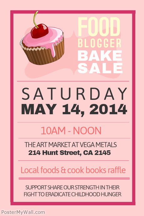 Download Bake Sale Yard Sign