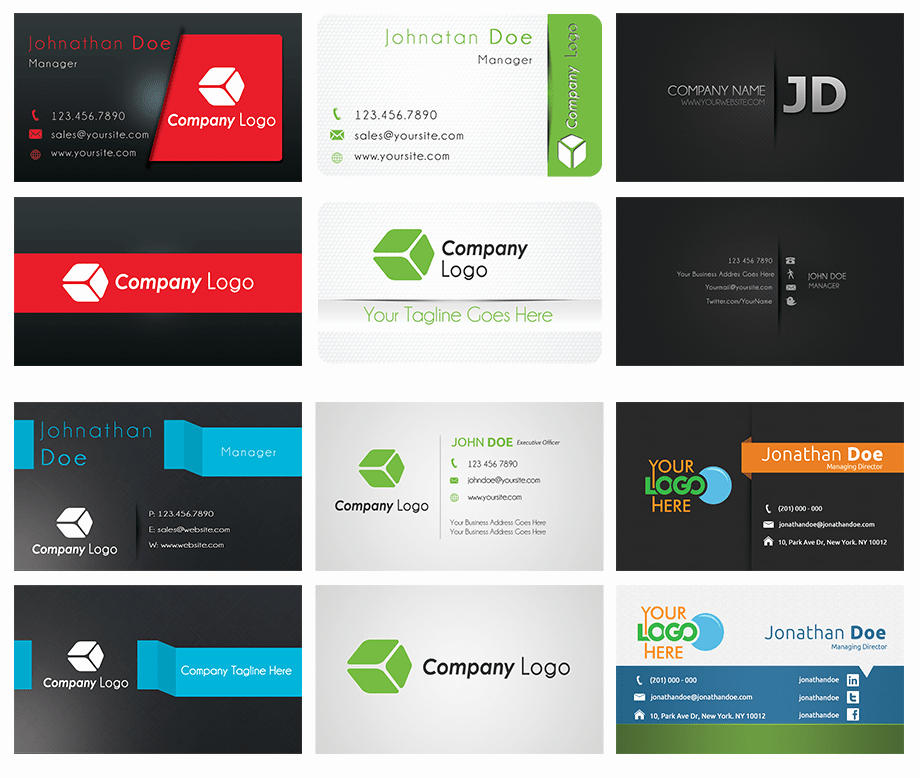 Download Business Card Design Templates Free Greenhatworld