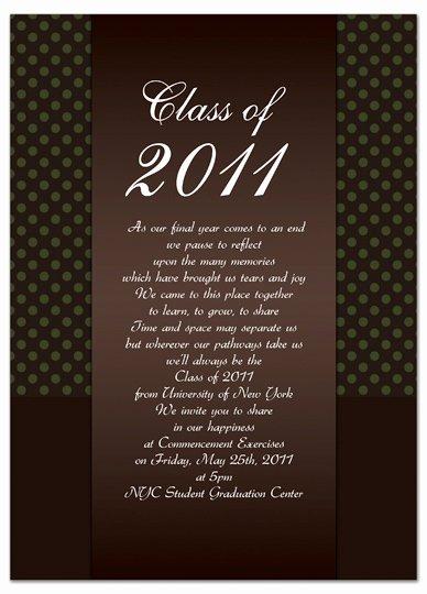 Download Diy Graduation Invitation Announcement Brown