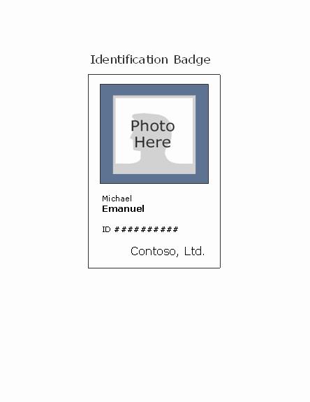 Download Employee Id Badge Portrait