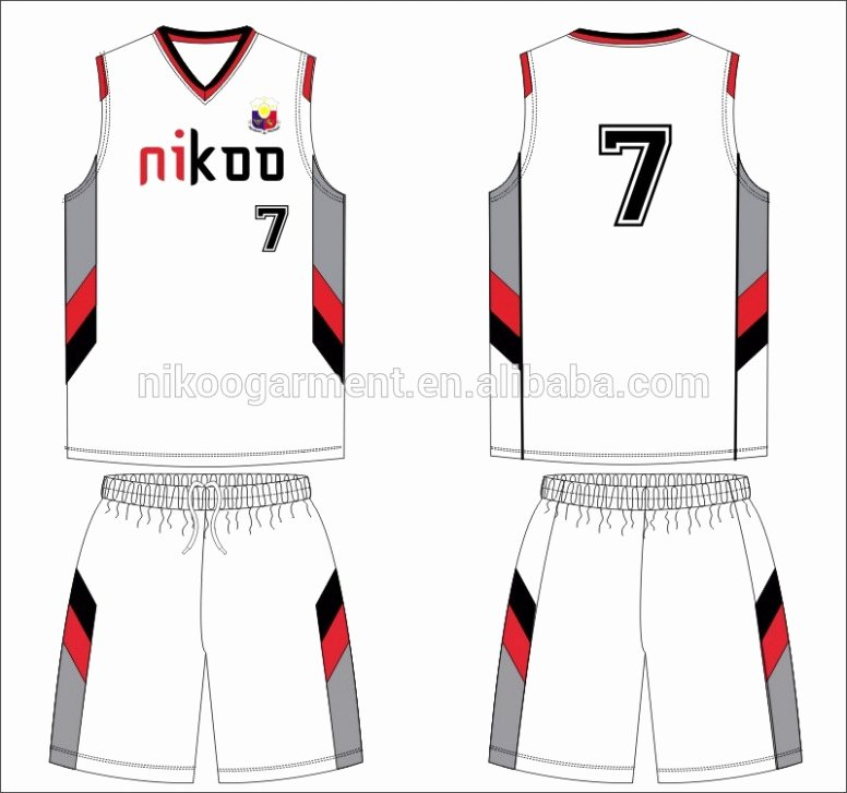 Download Free 15 Basketball Uniform Template Maximize