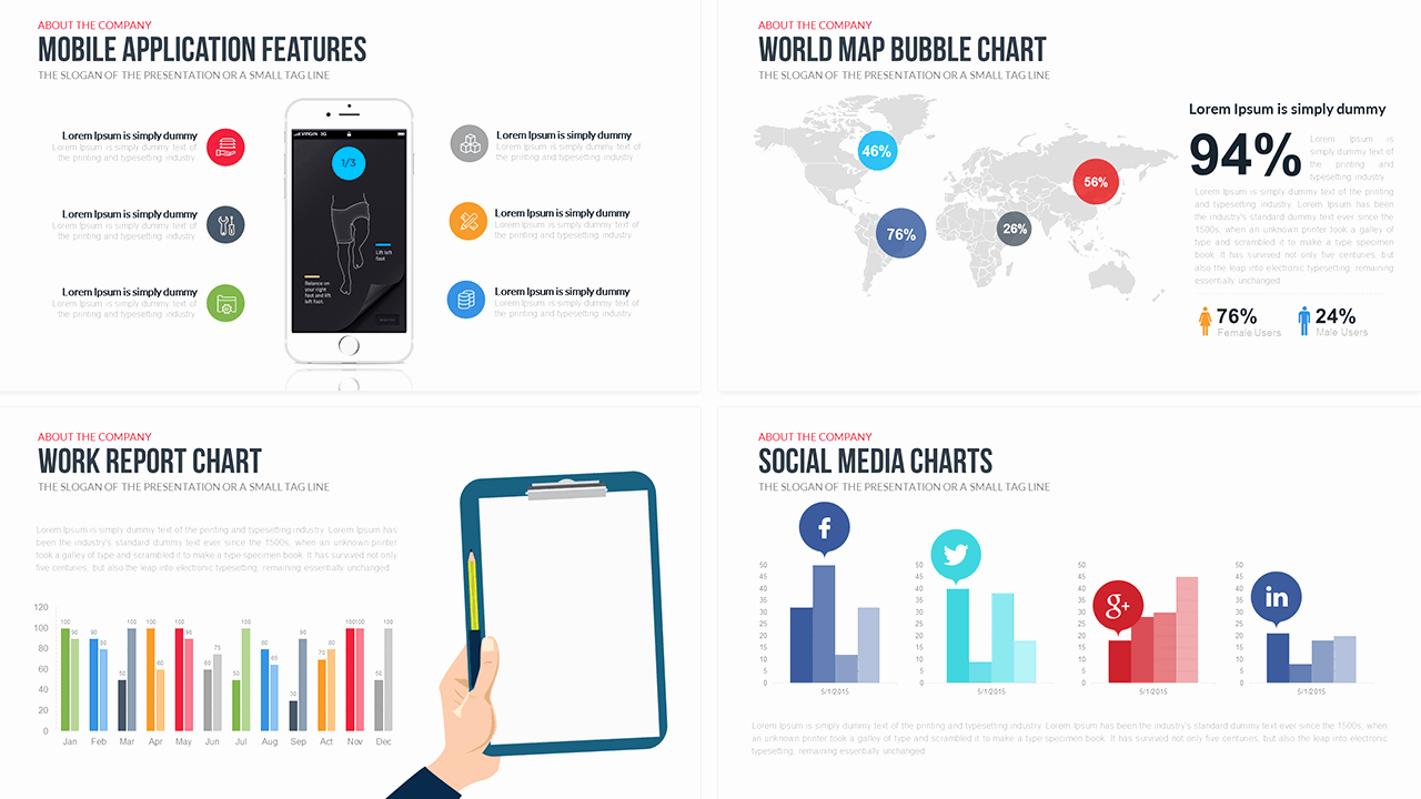 Download Free and Premium Powerpoint Templates 56pixels