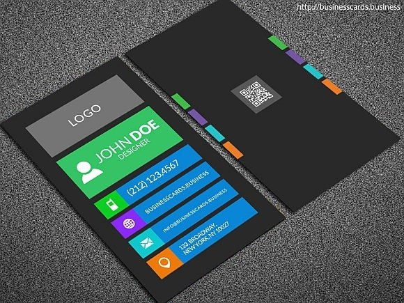 Download Free Business Card Templates at Bfb