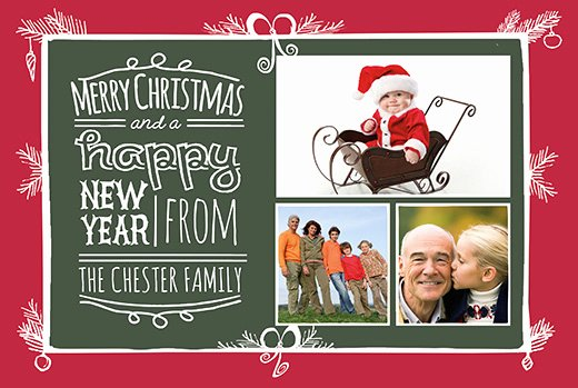 Download Free Christmas Card Templates
