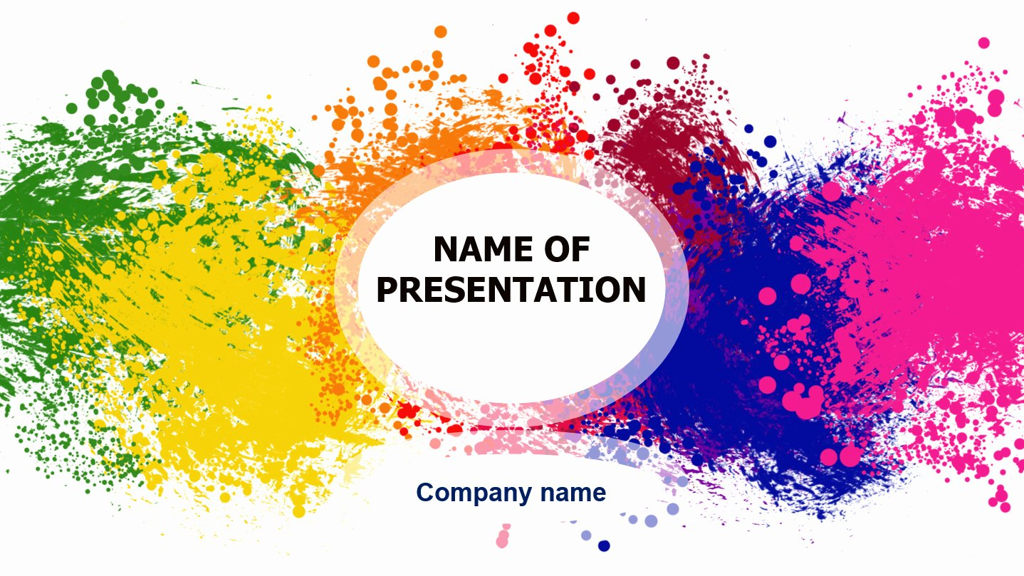 Download Free Colorful Powerpoint Template for Presentation