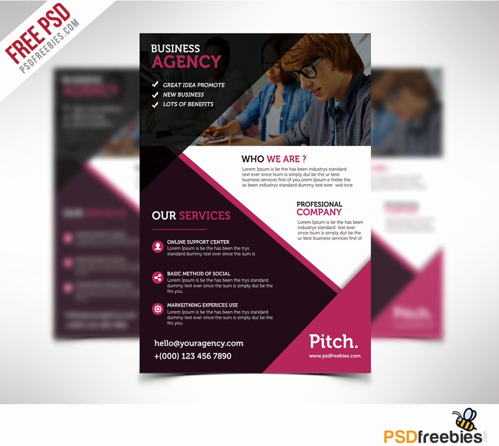 Download Free Flyer Templates Psd Download Psd