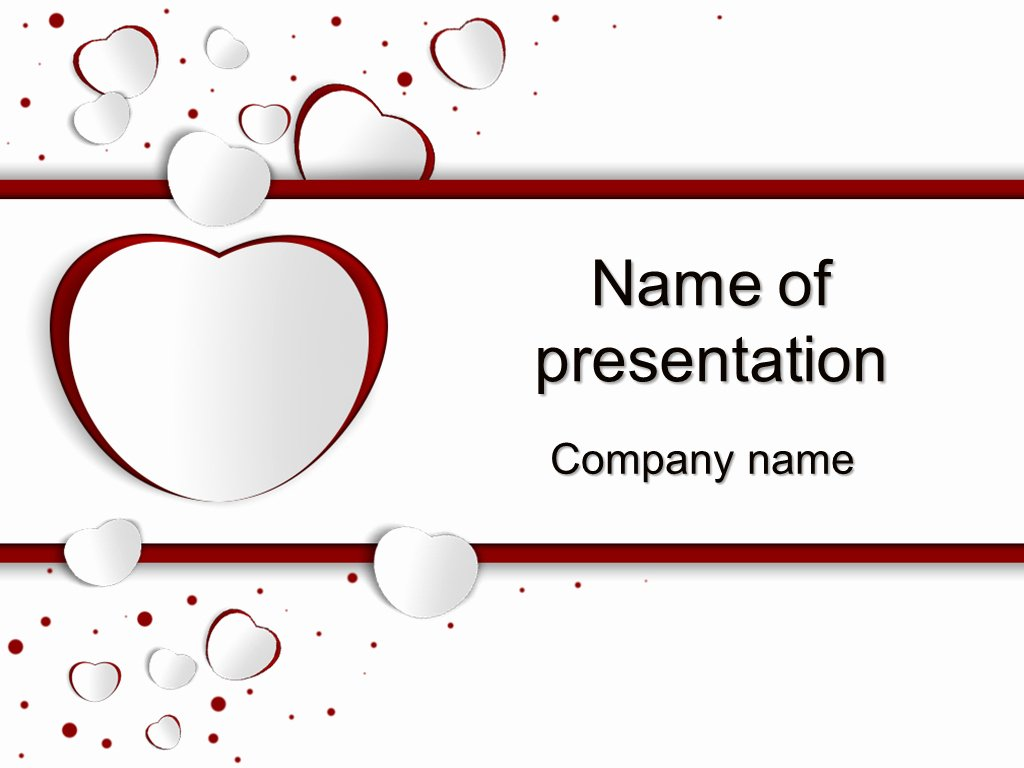 Download Free Love Day Powerpoint Template for Your