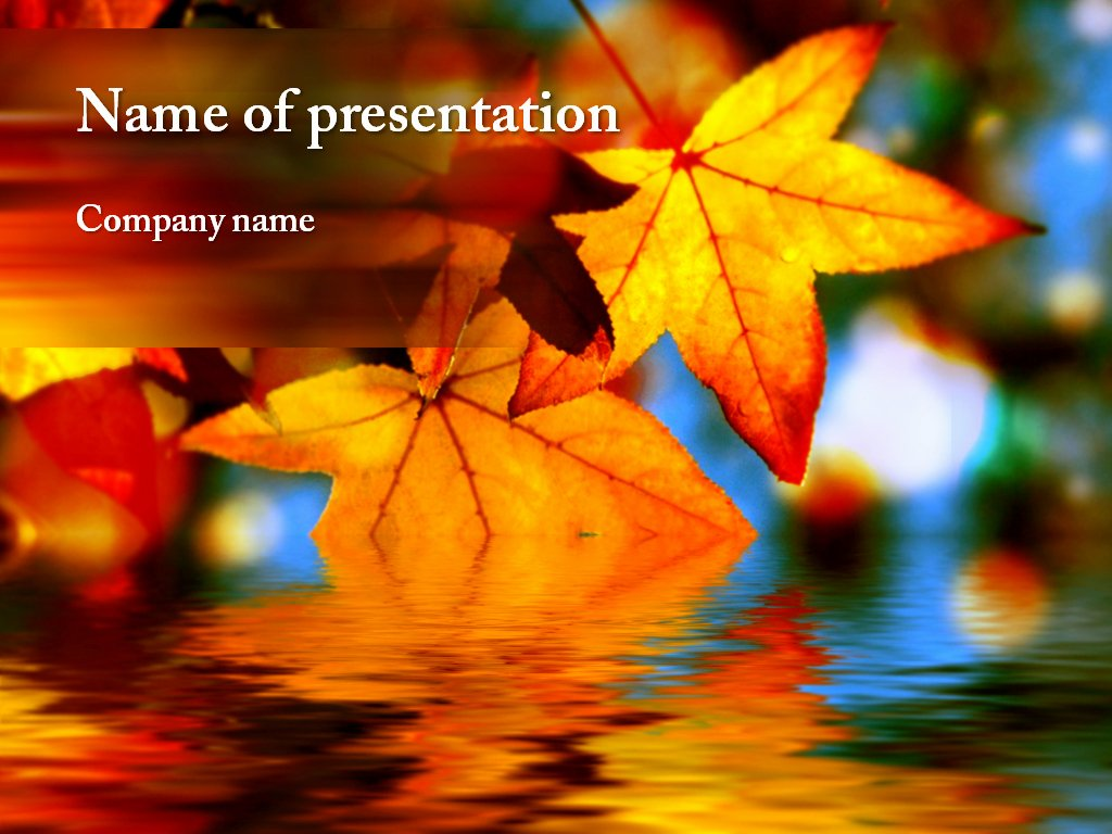 Download Free Maple Leaf Powerpoint Template for Your