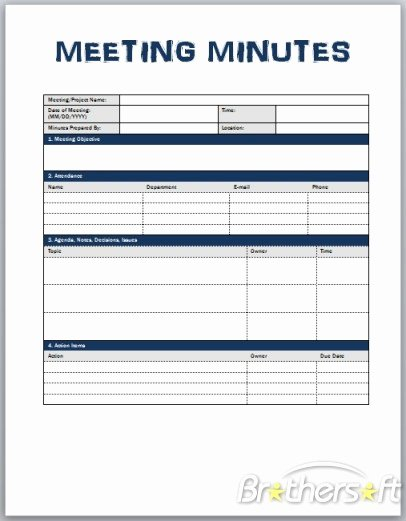 Download Free Meeting Minutes Template Meeting Minutes